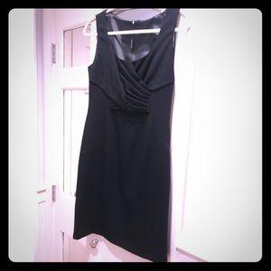 Elie Tahari Crepe Draped Cocktail Dress NWT